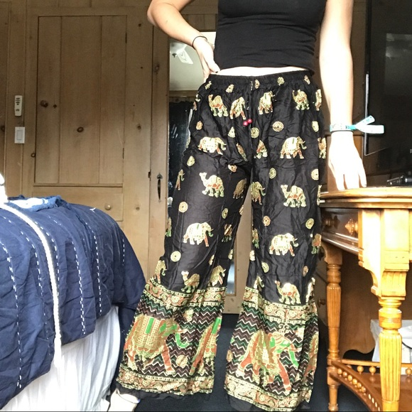 Pants - 🆕Handmade Indian Elephant Pants